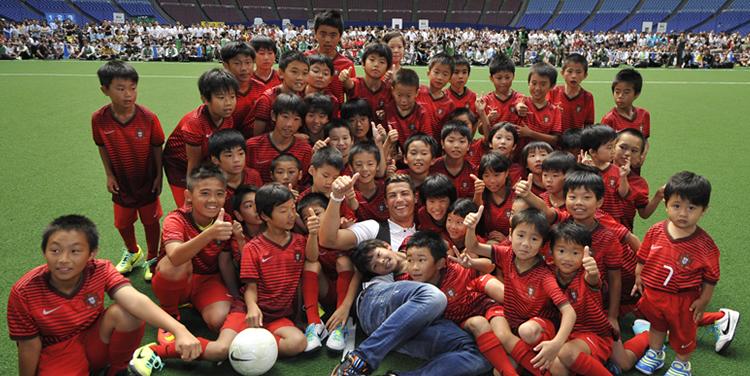 夏休み「夢」サッカー教室